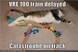 Not a Catastrophe, but a delay to the scheduled departure.